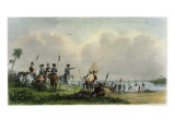 Landing of de Soto at Tampa Bay  1539