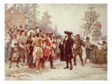 Landing of William Penn  1682