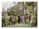 Washington's Inauguration at Philadelphia  1793