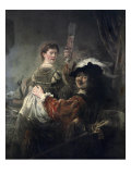 Prodigal Son in the Tavern (Rembrandt and Saskia)