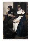 Three Women in Church