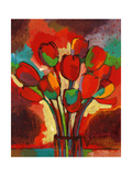 Kandinsky&#39;s Tulips