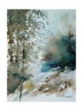 Watercolor landscape 301005