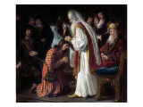 Samuel Annointing David