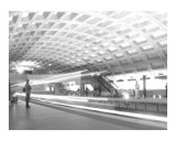 DC Subway Black and White