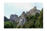 Cathar Castle Peyrepertuse in South of France