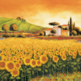 Valley of Sunflowers (detail)