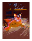 Lounging Oil Painting by Sharon Snead