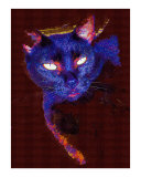 Purr-fection Oil Painting by Sharon Snead