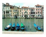 Gondola Docking on Grand Canal