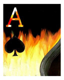 Royal Flush in Flames 10