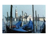 Gondolas Across San Giorgio