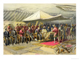 The Return Visit of the Viceroy to the Maharajah of Cashmere  1863