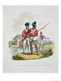 Native Troops in the East India Company&#39;s Service: a Sergeant and a Private Grenadier Sepoy
