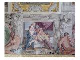 "The ""Galleria Di Carracci"" Detail of Jupiter and Juno  1597-1604"