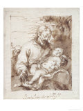 St Joseph with the Sleeping Christ Child