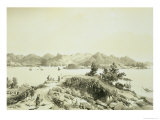 """The Bay and Island of Hong Kong Plate 4 from """"Sketches of China"""""""