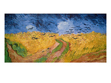 Wheatfield with Crows  1890 (Oil on Canvas)
