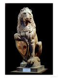 Heraldic Lion  1420