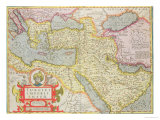 "Map of the Turkish Empire  from the Mercator ""Atlas"" Published by Jodocus Hondius Amsterdam  1606"