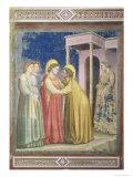 The Visitation  circa 1305