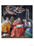 "The Virgin Sewing  from the ""Cappella Dell'Annunciata"" 1610"