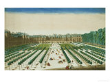 View and Perspective of the Palais Royal from the Garden Side