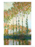 Poplars on the Banks of the Epte  Autumn  1891