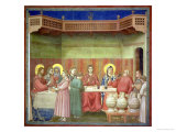 The Marriage Feast at Cana  circa 1305