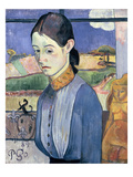 Young Breton Woman  1889 (Oil on Canvas)