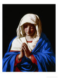 The Virgin in Prayer  1640-50