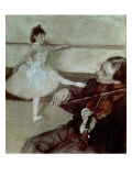 The Dance Lesson  circa 1879