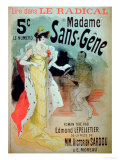 Madame Sans-Gene' in Le Radical  by Edmond Lepelletier