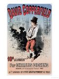 "Advertisement for ""David Copperfield by Charles Dickens "" 1884"