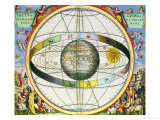 Map of Christian Constellations  from &quot;The Celestial Atlas  or the Harmony of the Universe&quot;