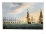 Battle of the Nile  August 1st 1798  for J Jenkins&#39;s &quot;Naval Achievements&quot;