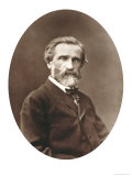 "Guiseppe Verdi from ""Galerie Contemporaine "" 1877"