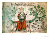 "Richard I  from ""Historia Major "" circa 1240"