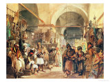 A Turkish Bazaar  1854