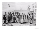 A Government Jail Gang  Sydney  New South Wales  19th Century