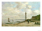 Lighthouse at Honfleur  1864-66