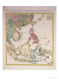 Southern Asia from China to New Guinea