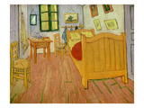 The Bedroom  1888 (Oil on Canvas)