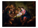 The Adoration of the Shepherds  1725