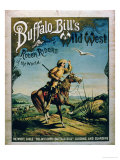 Advertisement for &quot;Buffalo Bill&#39;s Wild West and Congress of Rough Riders of the World&quot;