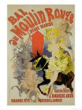 Reproduction of a Poster Advertising the &quot;Bal Au Moulin Rouge &quot; 1889