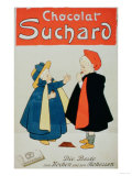 Poster Advertising &quot;Suchard Chocolate&quot;