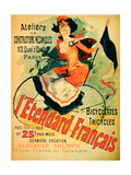 """The French Standard "" Poster Advertising the Atelier De Constructions Mecaniques"