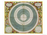 "Ptolemaic System  from ""The Celestial Atlas  or the Harmony of the Universe"""