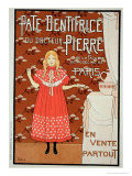 Reproduction of a Poster Advertising &quot;Doctor Peter&#39;s Toothpaste &quot; 1894